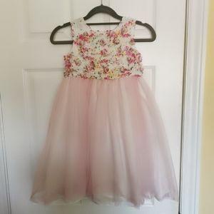 Girl's flower party dress